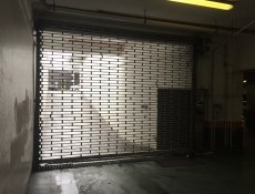 Aluminium security grills, shutters and shop front door systems